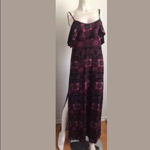 NWOT Anthropologie Ella Moss Maxi Dress
